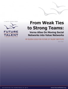 From Weak Ties to Strong Teams - a white paper by Verna Allee